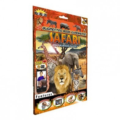 Popar 3D Augmented Reality Smart Book - Safari