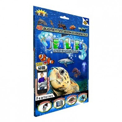 Popar 3D Augmented Reality Smart Book - Sea Life