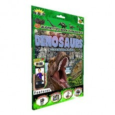 Popar 3D Augmented Reality Smart Book - Dinosaurs