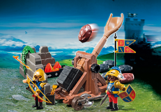 Playmobil Royal Lion Knights' Catapult