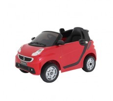 Battery Operated Car - SMART (Red/White)