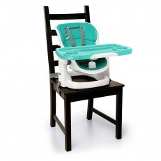 Ingenuity Smartclean Chairmate High Chair Seaside Green booster