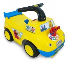 Sesame Street Elmo School Bus Ride On