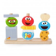 Sesame Street Friends Wooden Stacking Toy