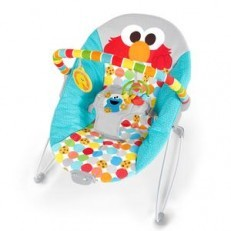 Sesame Street I Spot Elmo Vibrating Bouncer