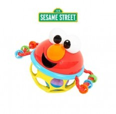 Sesame Street Jingle & Shake Elmo Easy Grasp Rattle