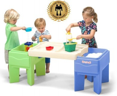 Simplay3 In & Out Activity Sand and Water Table + FREE playsand