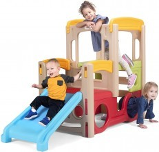 Simplay3 Young Explorers Adventure Climber Slide