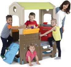 Simplay3 Young Explorers Indoor Outdoor Discovery Playhouse