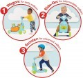 Skip Hop Zoo 3in1 Ride On Scooter & Wagon Toy, Dog +FREE Bottle