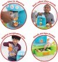 Skip Hop Kids Toy Zoo Bark-Ista Cafe Playset + FREE Straw Bottle