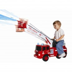 Skyteam Action Fire Engine Ride On + FREE fireman kit