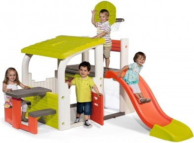 Smoby Playhouse and Fun Sports Center with Slide