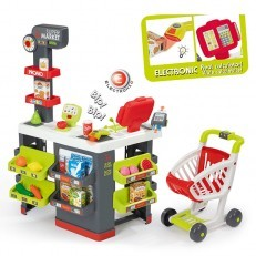 Smoby Supermarket with Shopping Cart