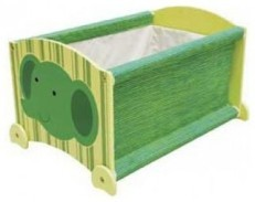 I'M TOY Wooden Stack Up Toy Box - Forest Elephant
