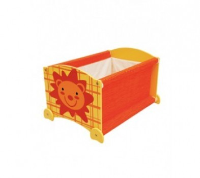 I'M TOY Wooden Stack Up Toy Box - Forest Lion