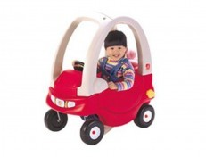 Step2 Snuggle Bug coupe ride on (Red)