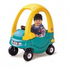 Step2 Snuggle Bug coupe ride on (Green)