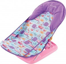Summer Infant Baby Bather Deluxe Dolphin Dive Pink Bathtub