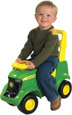 TOMY John Deere Sit N Scoot Activity Tractor ride on walker