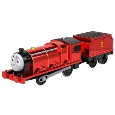 Thomas & Friends Trackmaster Metallic Celebration James