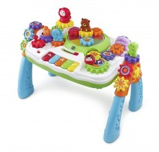 VTech GearZooz 2 in 1 Jungle Friends Gear Park activity table