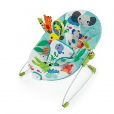 Vibrating Bouncer toybar 3 toys Jungle Stream