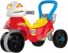 Vtech 3 in 1 Ride with Me Motorbike Ride On Walker Red