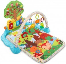 Vtech Baby Lil Critters Musical Glow Activity Play Gym Mat