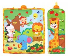 Vtech Giggle and Grow Jungle Playmat height chart