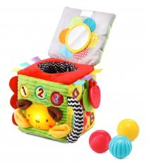 Vtech Soft and Smart Sensory Cube / Discovery Ball Cube