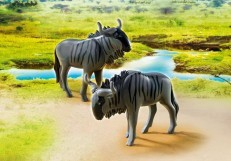 Playmobil Wildebeests