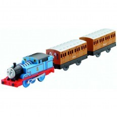 Thomas with Annie and Clarabel Trackmaster