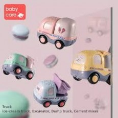 Babycare Musical Cartoon Trucks (4pcs)