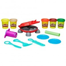 Play Doh Kitchen Creations Burger Barbecue Set