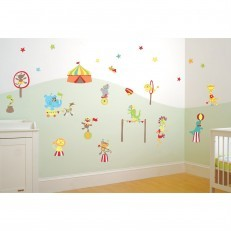 Mr Giggle's Circus Boys Wall Sticker Decor K