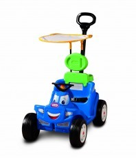 Little Tikes Deluxe 2-in-1 Cozy Roadster push around ride on