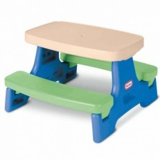 Little Tikes Easy Store Jr Play Table, Picnic Table