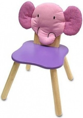 I'M Toy Wooden Forest Chair - Elly Elephant