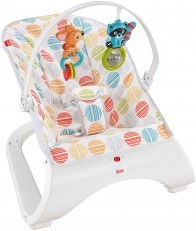 Fisher Price Comfort Curve Bouncer (White/Pink)