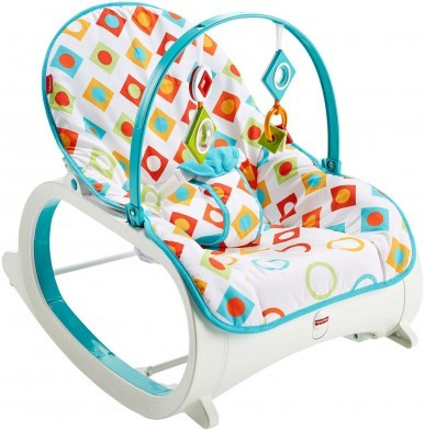 Fisher Price Infant to Toddler Rocker - Geo Diamonds