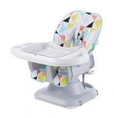 Fisher Price Spacesaver High Chair Booster Seat (Diamond)