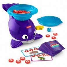 Fisher Price Spout & Spell Whale