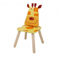 I'M Toy Wooden Geo Forest Chair - Giraffe