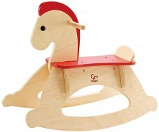 Hape Wooden Rock and Ride Rocking Horse