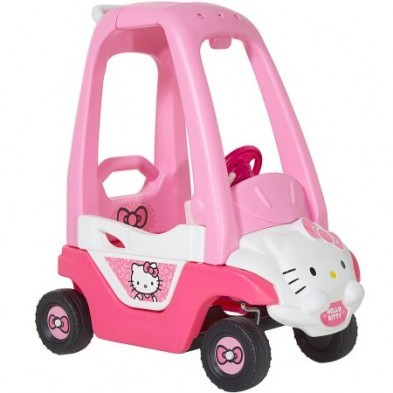 Hello Kitty Push n Play Coupe