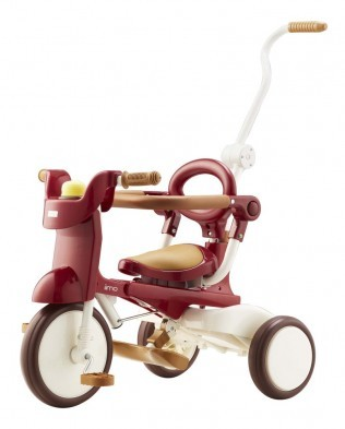 iimo Foldable Trike Tricycle #2 (Eternity Red)