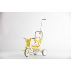iimo x Macaron Foldable Tricycle Trike (Banana Yellow)