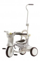 iimo Foldable Trike Tricycle #2 (Gentle White)