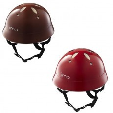 Kids Helmet - iimo (Eternity Red/Comfort Brown)